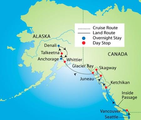 Grand-Alaskan-Cruise-Tour-Map
